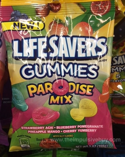 Lifesavers Gummies Parodise Mix