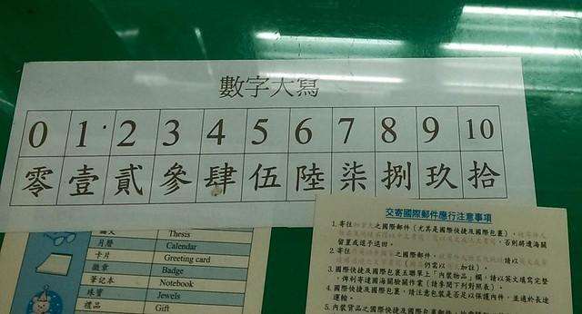 國字大寫數字 – Taiwan 2.0