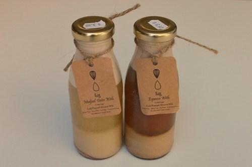Luz cold pressed almond milk