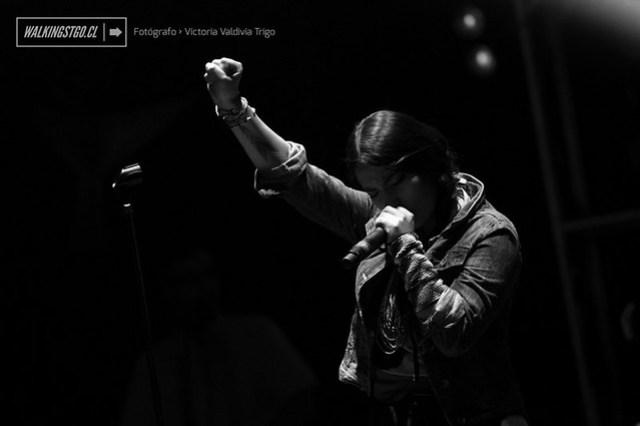 Ana Tijoux en el lanzamiento de su disco #VENGO -08.08.2014-