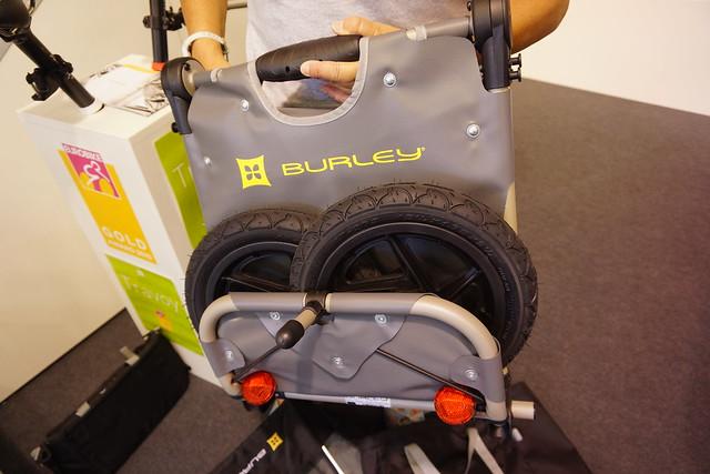 Eurobike 2014: Burley Travoy light trailer