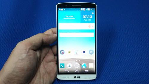 LG G3 ด้านหน้า