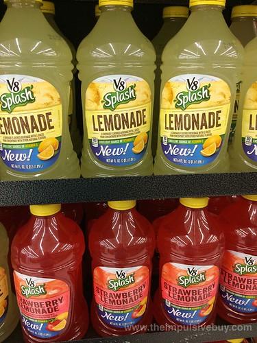 V8 Splash Lemonade and Strawberry Lemonade