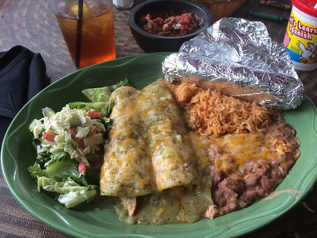 Enchiladas at Amanda's Fonda