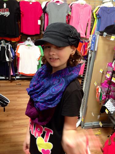 Fashion Show at Walmart! :)