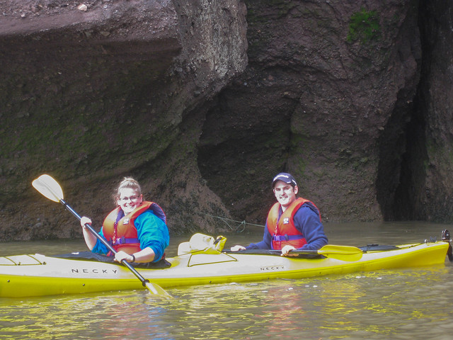 Kayaking the Hopewell Rocks