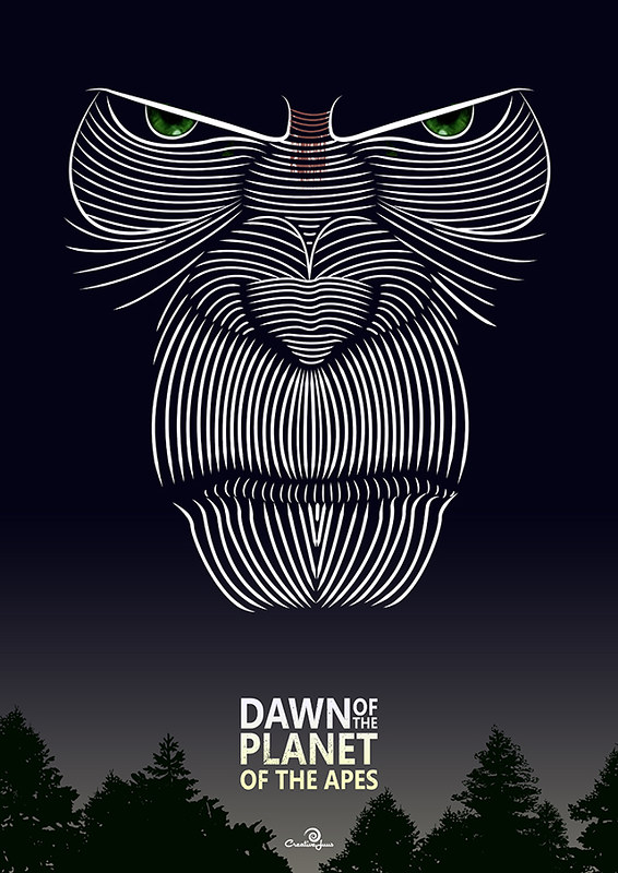 Dawn of the Planet of the Apes - Variant