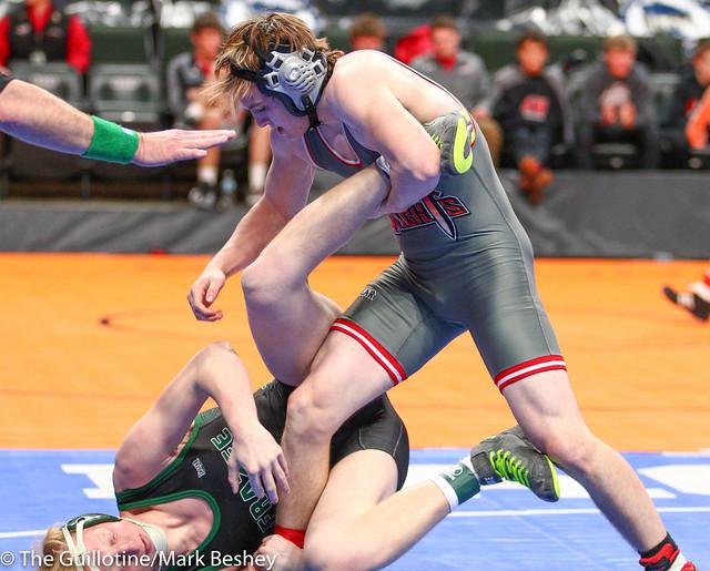 182 - Logan Wacker (Frazee) over Alex Butcher (West Central Area-Ashby-Brandon-Evansville) Fall 3:54