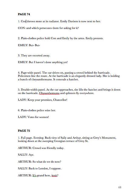 Sally script sample