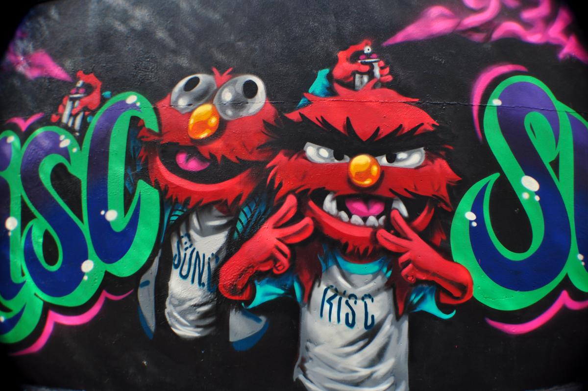 Risc Sun.C Muppet Show detail