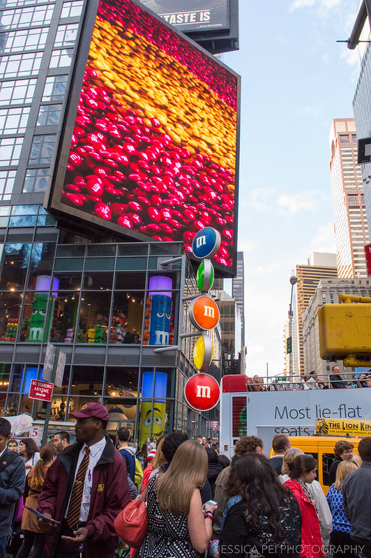 M&M Store in Times Square New York City