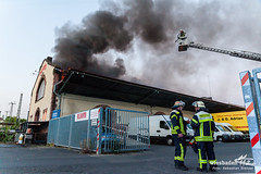 Lagerhallenbrand Klingholzstr. 03.07.14