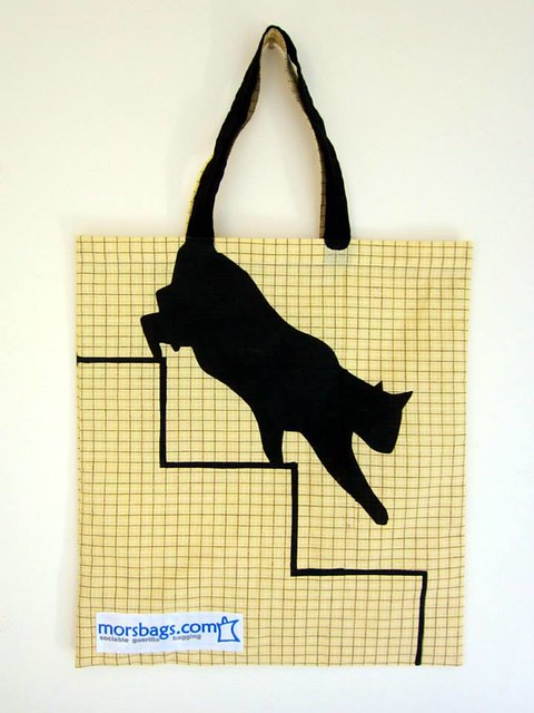 Morsbag - cat stencil