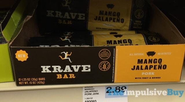 Krave Bar Mango Jalapeno Pork