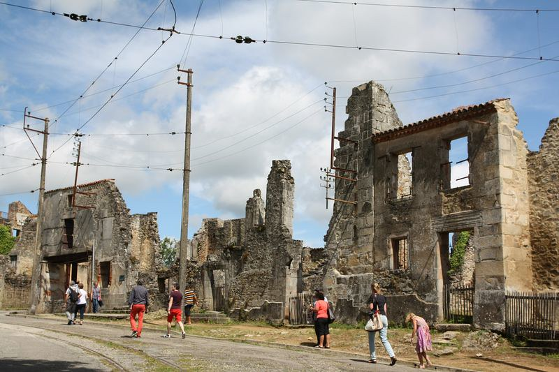 Oradour sur Glane - the killed village
