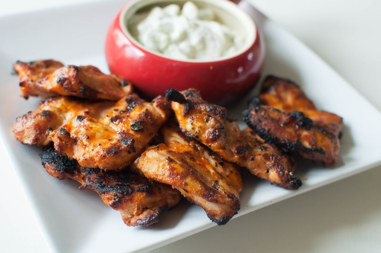 Grilled Buffalo Chicken 4