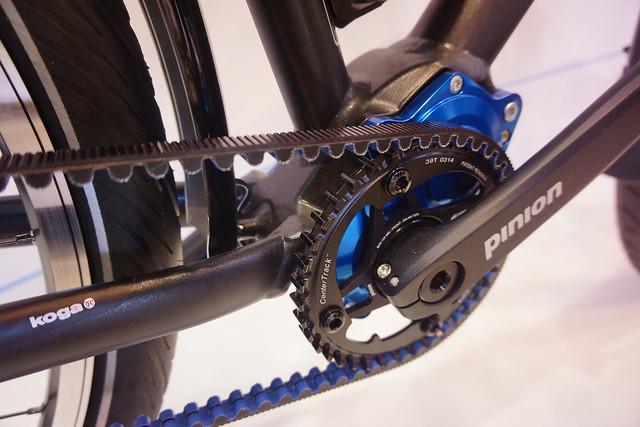 Eurobike 2014: Koga World Traveller Pinion detail