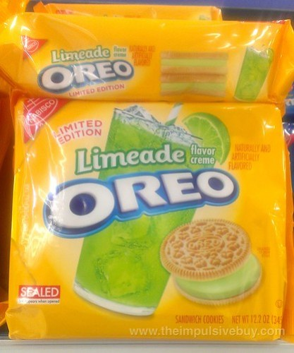 Nabisco Limited Edition Limeade Oreo