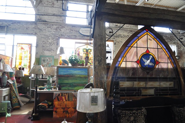 So Much to See and Find at Black Dog Salvage in Roanoke, Va.