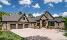 Mountain Craftsman Dream Home Plans