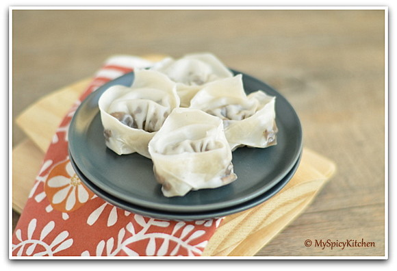 Mushroom Dumplings, Ukrainian Foo, Ukrainian Cuisine, Blogging Marathon, Around the World in 30 Days with ABC Cooking,