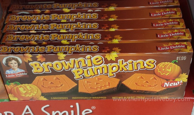 Little Debbie Brownie Pumpkins