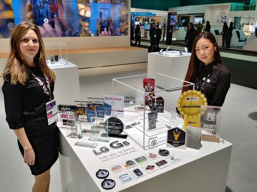 LG G6 กวาด 31 รางวัลที่ Mobile World Congress 2017