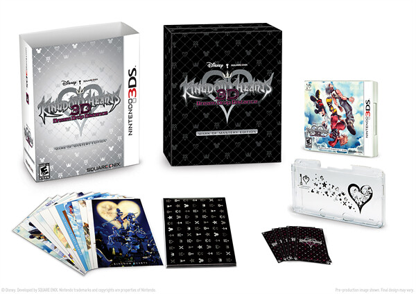 Kingdom Hearts 3D: Dream Drop Distance Mark Of Mystery Edition