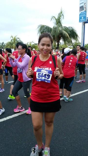 at Sofitel Manila Half Marathon 2014