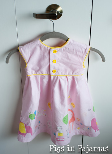 Made By Rae Geranium Dress back