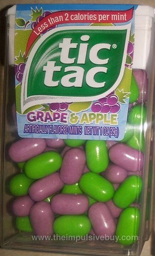 TicTac Grape & Apple