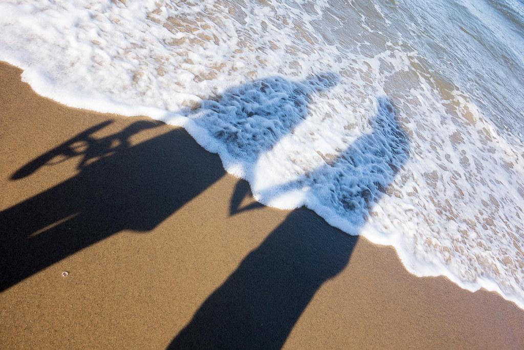Love Shadow, Nauset Light Beach.