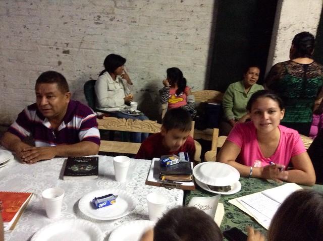 Escuela de Obreros en Lourdes Sept. 2014