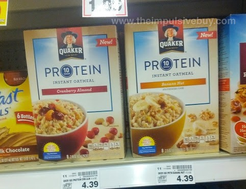 Quaker Protein Instant Oatmeal