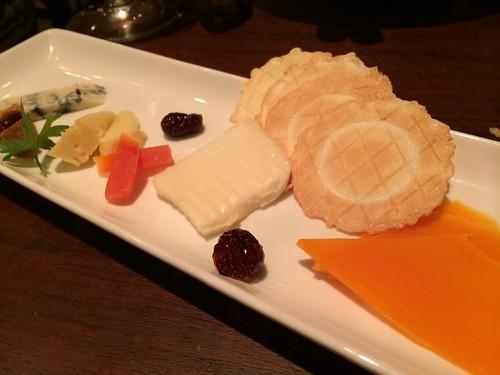 チーズの盛り合わせ@タブリエ