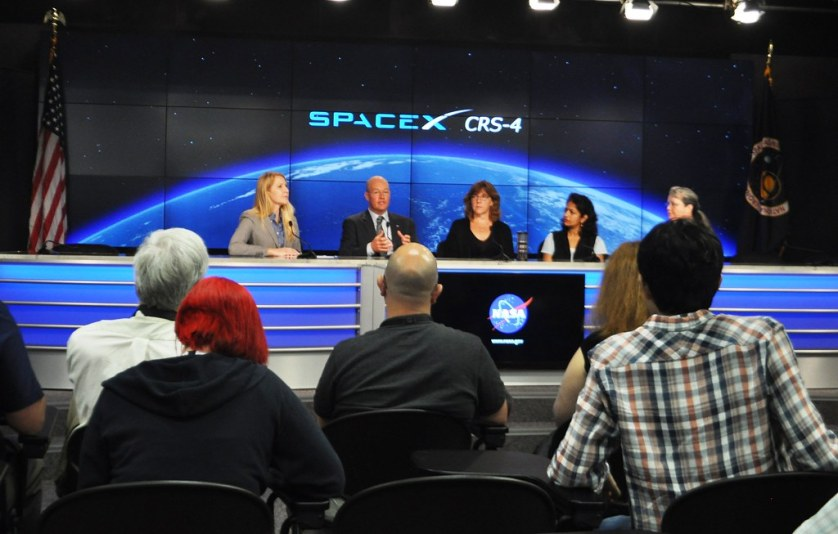 #NASASocial #SpaceX4 NASA Kennedy Space Center Press Briefing - ISS Science Panel Model Organisms, Sept. 18, 2014