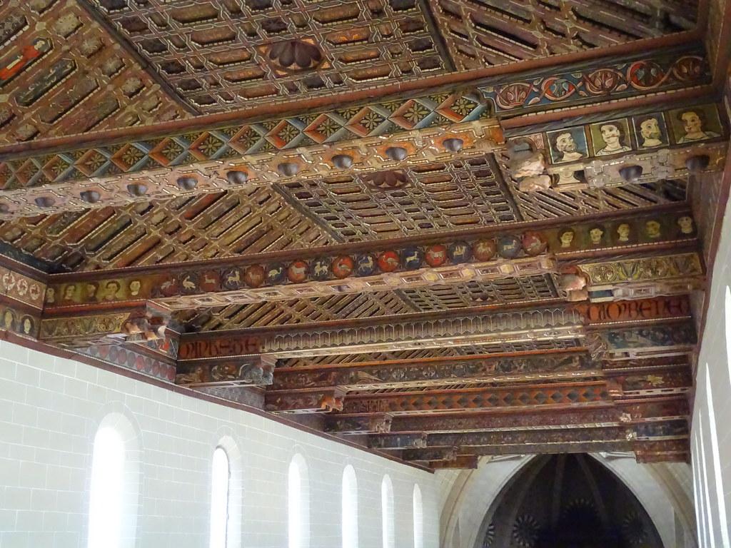 Teruel techo mudejar Catedral Santa Maria de Mediavilla 06