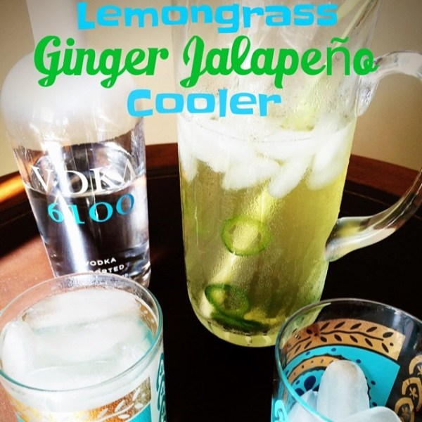 Lemongrass Ginger Jalapeño Cooler