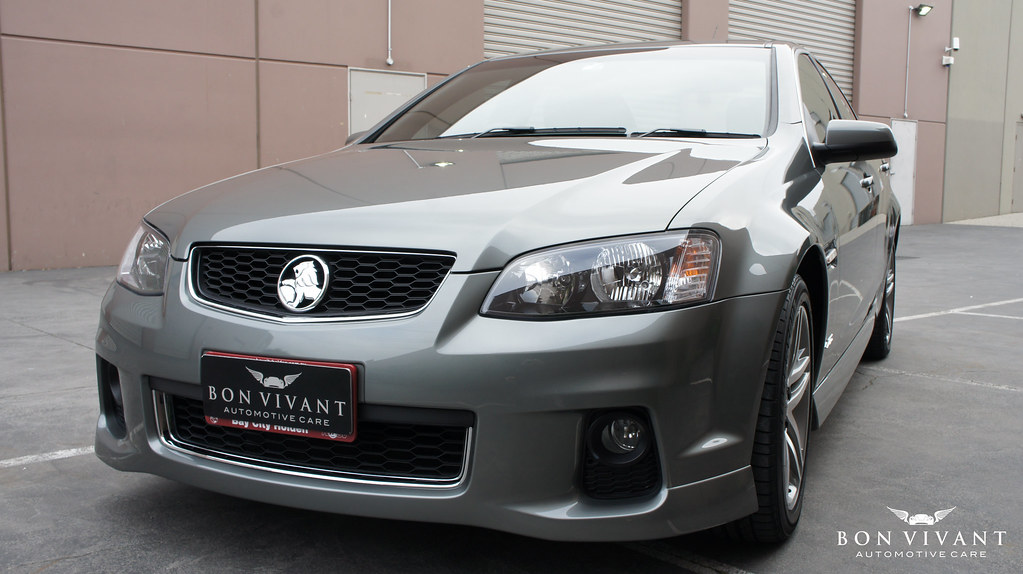 Holden SV6 coated with Modesta paint protection