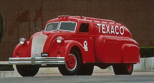 1938 Dodge Airflow Tanker Truck. (T-216)