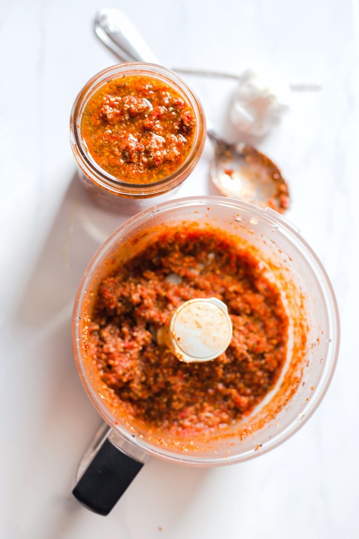 Rosemary and Pepita Sun-Dried Tomato Pesto