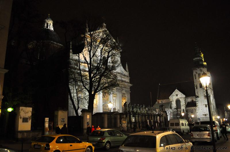 KRAKÓW - Plac św. Marii Magdaleny - Kościół Świętych Apostołów Piotra i Pawła · Kościół św. Andrzeja