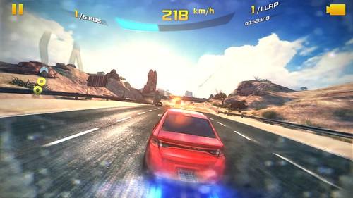 เกม Asphalt 8: Airborne บน Xiaomi MI3