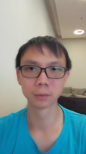 Selfie ด้วย Huawei Ascend P7 แบบ Beauty ระดับ 10