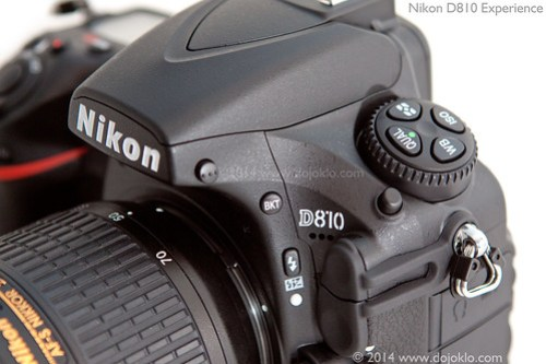 Nikon D810 body detail tips tricks how to use manual guide book set up quick start