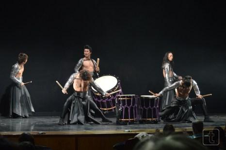 The Samurai of the drum