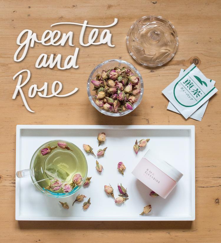 ROSE Green tea and rose