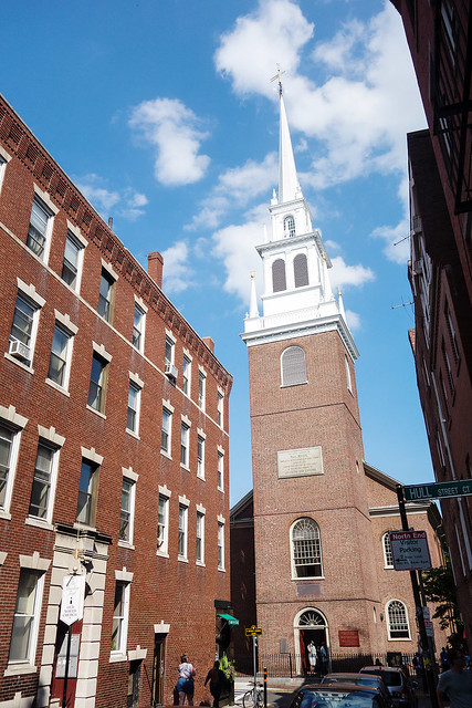 Old North Church, Boston.