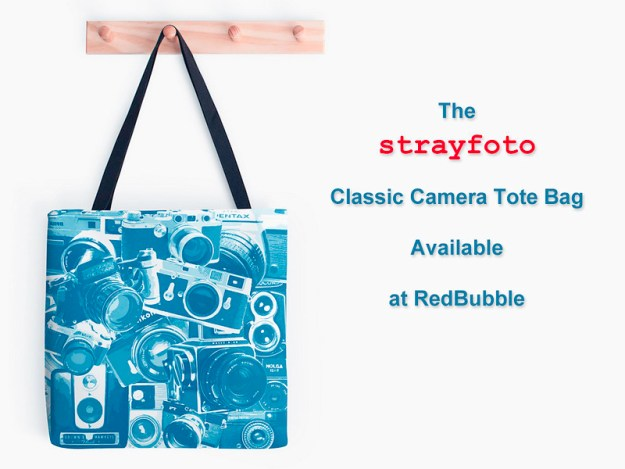 Strayfoto Classic Camera Tote Bag