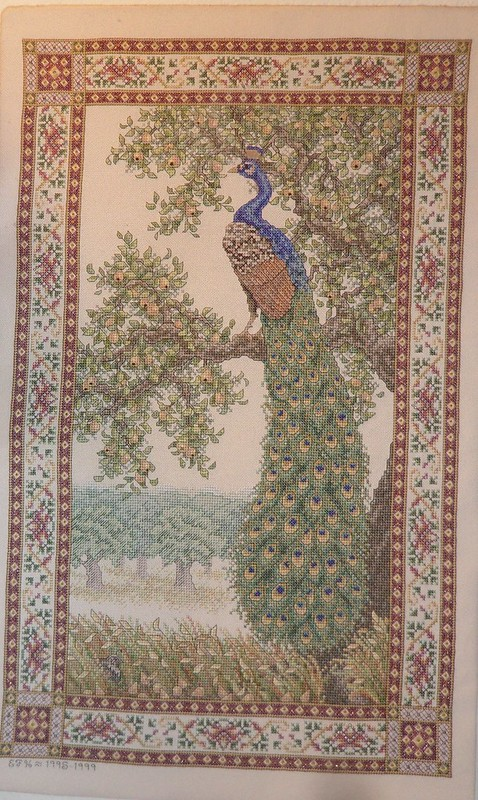 Peacock Tapestry TW